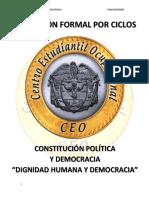 c. p. Dignidad Humana y Democracia