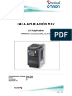 GuiaAplicacionMX2 Lift Rev05 Lift Application (1)