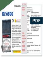 Ice 680 g Datasheet Italiano