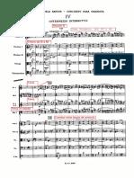 Bartok Concierto para Orquesta IV Mov