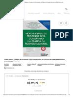 Livro - Novo Código de Processo Civil C...a Da Fazenda Nacional No Submarino