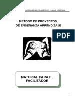 Metodo de Proyectos Enseñanza Aprendizaje Plan Del Instructor Const, Metalicas - Copia