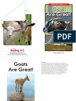 Leveled Book H Goats Are Great