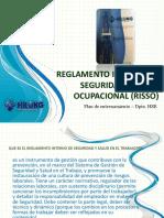 Reglamento Seguridad y Salud