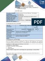 Guía de Actividad y Rubrica de Evaluación - Tarea 2 - Genetica y Biotecnologia