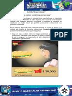 Actividad 7 Evidencia 5 Ejercicio Practico Advertising and Web Page