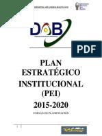 Plan estrategico institucional