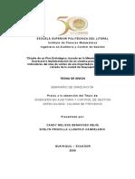 Diseño de un Plan Estratégico, basado en la Metodología del Balanced Scorecard