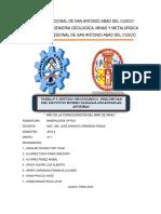 Resumen Digital de Tesis Relacionado a La Asignatura de Mineralogia Optica