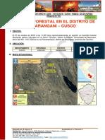Reporte Complementario Nº 2389 09oct2019 Incendio Forestal en El Distrito de Marangani Cusco 01
