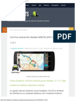 Tomtom Android Km Illimitati GRATIS APK Crack v 117