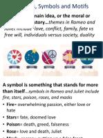 Romeo and Juliet Themes Symbols Motif (1)