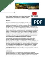 Artículo de Revisión Bioma de Arrecifes de Coral