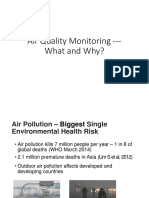 Air Quality Monitoring - What and Why