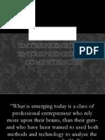 Entrepreneurs & Entrepreneurial Competencies