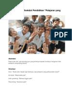 5 Contoh Teks Anekdot Pendidikan
