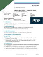 Functional Description - Surveyors _Inspectors