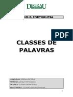 Classes de Palavras - Degrau