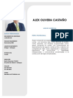 Alex Olivera Hoja de Vida