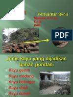kayu sebagai bahan Pondasi..pptx