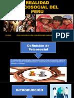 Realidad Psicosocial Del Peru