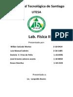 Laboratorio de Fisica II