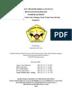 LAPORAN  PRAKTEK KERJA LAPANGAN MODIFIKASI RESEP - KELOMPOK 4.docx