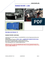Landrover Range Rover Lcm