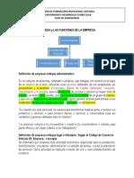Definicion de Empresa y Sus Funciones