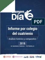 Informe Cuatrienio 2018 Ee Sagrada Familia Potrerillo