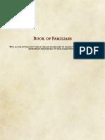 Book of Familiars [5E]