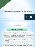 CVP Analysis PPT