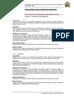 1 Especificaciones Técnicas Obras Provisionales