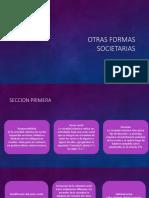 Otras Formas Societarias Seccion Primera