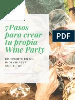 Pasos Para Crear Tu Propia WIne Party