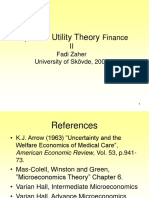 Zaher_Expected Utility Theory Finance
