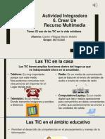 Actividad Integradora 6 Recurso Multimedia 1