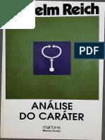 (Reich-Wilhelm) Analise Do Carater (Livro)