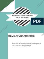 askep artritis