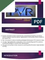Case Study on Pvr Cinemas