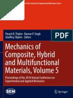 Mechanics of Composite Hybrid and Multifunctional Materials Volu 2019