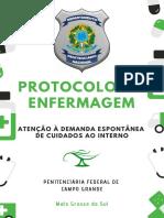 Protocolo de Enfermagem - Penitenciária Federal