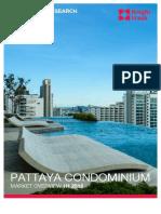 1h 2016 Pattaya Condominium 4280
