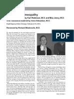 Predictive Homeopathy - Moskowitz