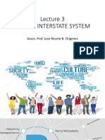 Cw Lecture 3 Global Intersate System