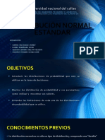 Distribución Normal Estándar 123456