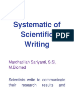 Systematic of Scientific Writing.docx
