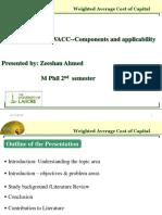 WACC Presentation (1)