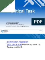 11b Critical Task Fpl