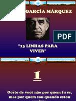 13 Linhas Gabriel Garcia Marques